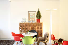 minimalistic Living room تنفيذ Entre Led e Design