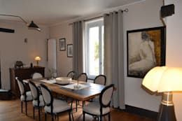 eclectic Dining room by KREA Koncept