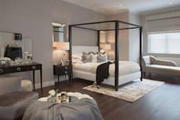 Dormitorios de estilo  por JHR Interiors