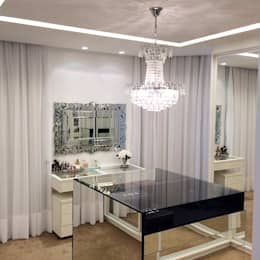 modern Dressing room by Palloma Meneghello Arquitetura e Interiores