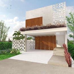 Casa L.&J. : Casas modernas por Macro Arquitetos