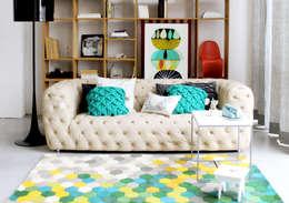 غرفة المعيشة تنفيذ Entre Led e Design