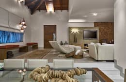 Projekty,  Salon zaprojektowane przez Isabela Canaan Arquitetos e Associados