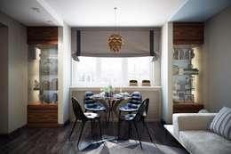 modern Living room by Дизайн студия Алёны Чекалиной