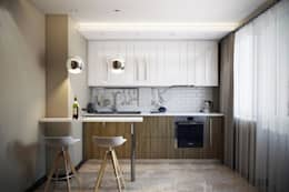 Cocinas de estilo moderno por Дизайн студия Алёны Чекалиной