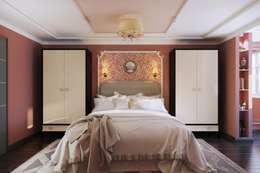 moderne Schlafzimmer von Дизайн студия Алёны Чекалиной