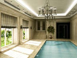 10 ideas de albercas para casas modernas for Techos para albercas