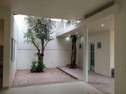 بلكونة أو شرفة تنفيذ HL Héctor Lucatero arquitectos