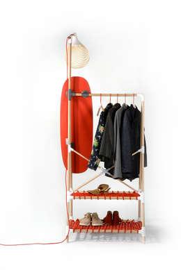 La penderie ALOUETTE: Dressing de style de style Minimaliste par FRITSCH-DURISOTTI