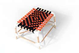 Le petit POUSSIN: Salon de style de style Minimaliste par FRITSCH-DURISOTTI