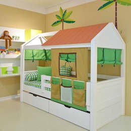 modern Nursery/kid's room by INTERCASA MÓVEIS INFANTIS E JUVENIS