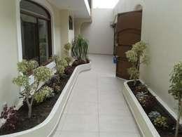 Jardines de estilo moderno por PUNTO A PUNTO ARQUITECTURA
