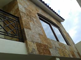 Casa JdC: Casas de estilo colonial por PUNTO A PUNTO ARQUITECTURA