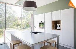 Projekty,  Kuchnia zaprojektowane przez Kraal architecten BNA