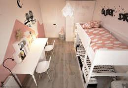 Cuartos infantiles de estilo escandinavo por homify