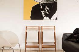 Recibidor: Salas / recibidores de estilo moderno por PUNCH TAD