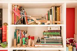 Detalle de biblioteca: Estudio de estilo  por PUNCH TAD