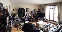 Salon avant- Appartement Courbevoie:  de style  par Nuance d'intérieur