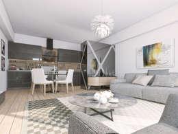 Moderne Wohnzimmer Von Oksijenn
