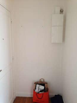 Appartement Marly-Le-Roi- Entrée avant:  de style  par Nuance d'intérieur