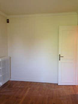 Appartement Marly-Le-Roi- Chambre avant :  de style  par Nuance d'intérieur
