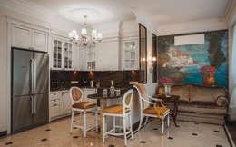 апартаменты в Ялте: Кухни в . Автор – Дорогой Дом