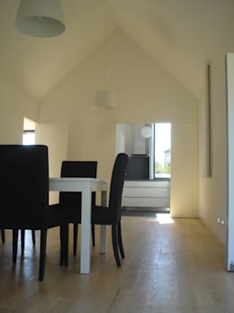 modern Dining room by Utopia - Arquitectura e Enhenharia Lda