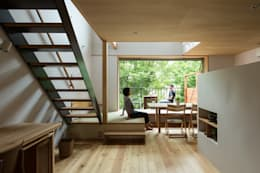 Ruang Keluarga by 藤森大作建築設計事務所