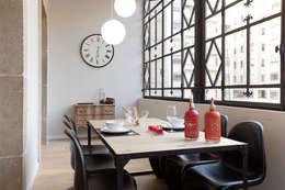 industrial Dining room by Home Deco Decoración