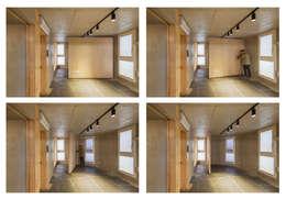 Corridor & hallway by Strakx associates