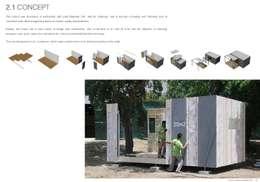 Casas de estilo minimalista por Plano Humano Arquitectos