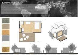 Plano Humano Arquitectos의  주택