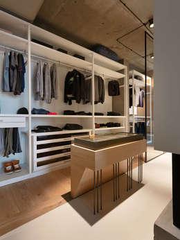 industrial Dressing room by Olga Akulova DESIGN