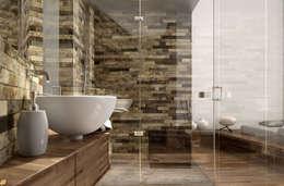 KRISZTINA HAROSI - ARCHITECTURAL RENDERING의  화장실