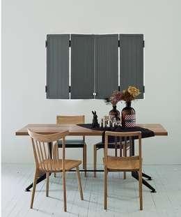친환경 원목 테이블: 인더룸의  주방