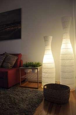 Salon de style de style Moderne par G.R design