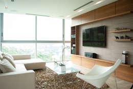 Salas de estilo moderno por VODO Arquitectos