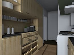 Projet Cuisine S.: Cuisine de style de style Classique par Sandia Design