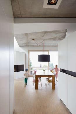 modern Dining room by LEE+MIR