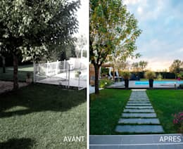 moderner Garten von E/P DESIGN - Emilie Peyrille