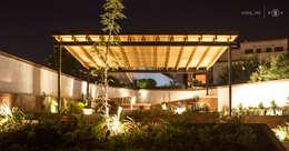 minimalistische Tuin door Región 4 Arquitectura
