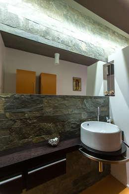 moderne Badkamer door QUADRASTUDIO