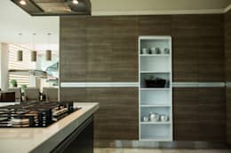 Cocinas de estilo moderno por Dovela Interiorismo