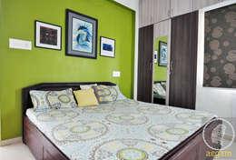 Apartment Remodel: modern Bedroom by Aegam