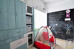Apartment Remodel: modern Nursery/kid's room by Aegam