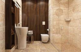 Среда обитания: Ванные комнаты в . Автор – rudakova.ru