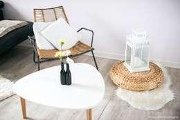 Salas de estilo escandinavo por E/P DESIGN - Emilie Peyrille