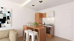 Cocinas de estilo minimalista por José Tiago Rosa