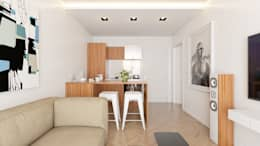minimalistic Kitchen by José Tiago Rosa