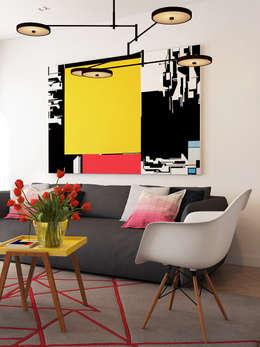 minimalistic Living room by José Tiago Rosa